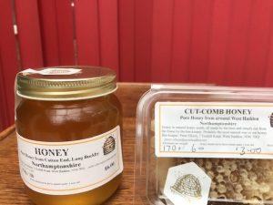 Cotton End Park Honey For Sale!