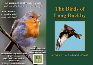 New Book – The Birds of Long Buckby